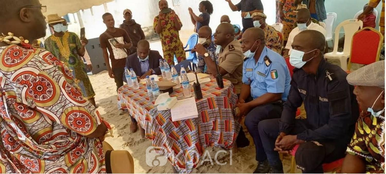 Côte d'Ivoire : Akouai-Agban (Bingerville), la consultation populaire tant redoutée s'est bien déroulée