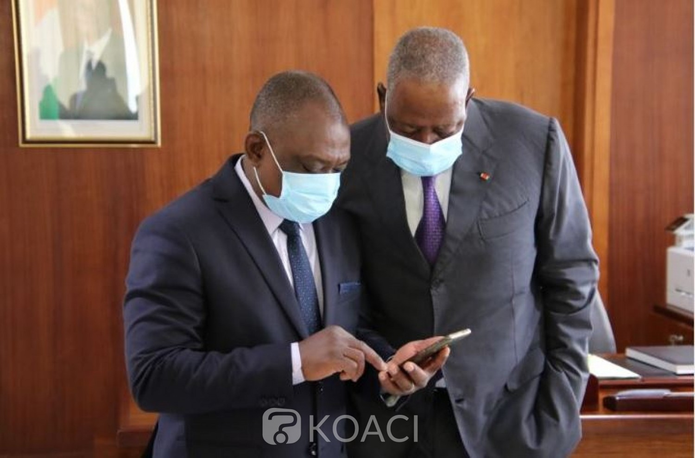 Côte d'Ivoire : Avant d'entamer le chantier de la Réconciliation, le Ministre KKB prend des  conseils  d'usage auprès du Médiateur Toungara