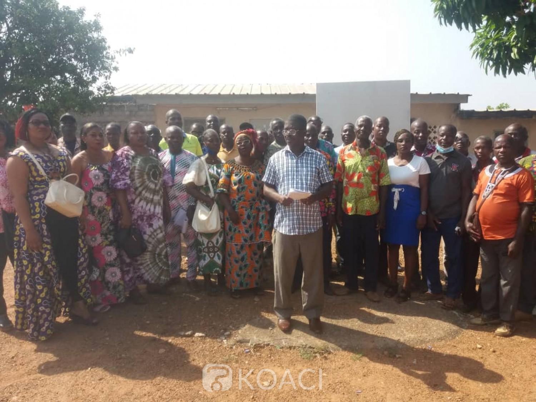 Côte d'Ivoire : Bouaké, « Pour avoir implanté le parti dans toutes les contrées », des délégués RHDP Gbêkê 2 plaident pour le choix de Habonouan aux législatives