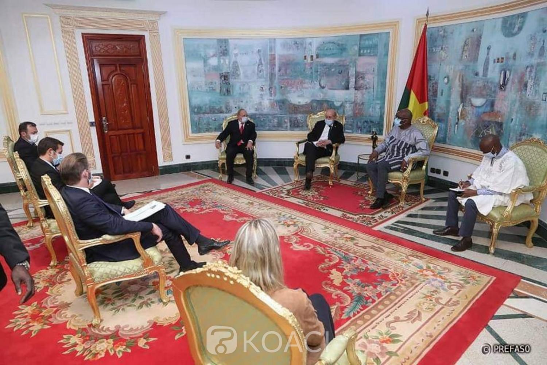 Burkina Faso : Visite du ministre français Jean-Yves Le Drian à Ouagadougou