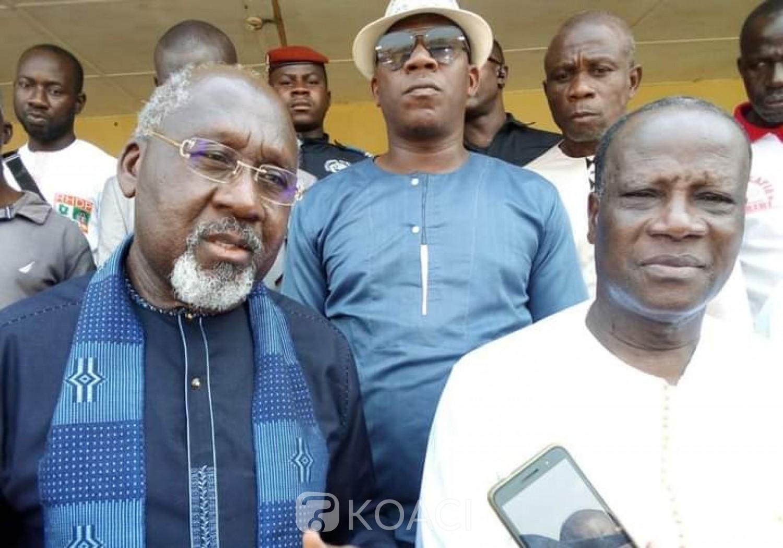 Côte d'Ivoire : Depuis Bayota, Alcide Djédjé à l'opposition « le RHDP sortira largement victorieux de ces législatives »