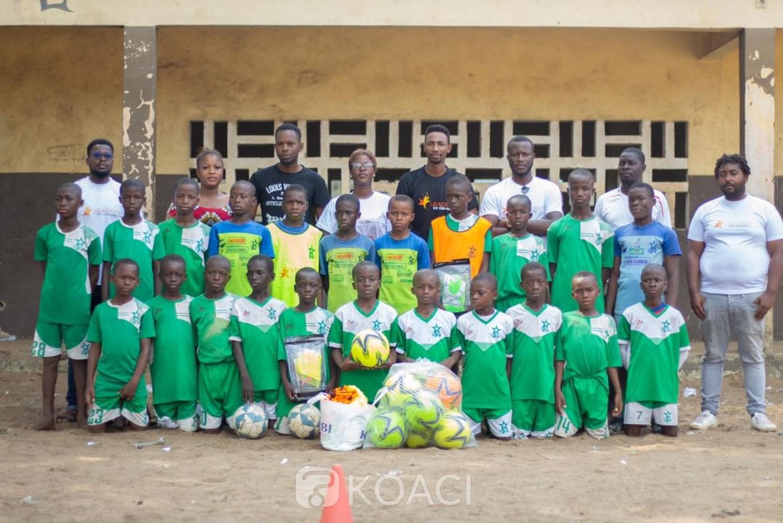 Côte d'Ivoire : Les Leaders de Demain à l'Étoile du Sahel d'Abobo : « Notre action est d'encourager et aider les prochains leaders à travers le canal du sport »