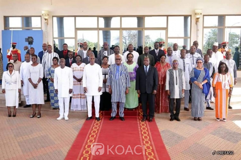 Burkina Faso : le nouveau gouvernement tient son premier conseil des ministres