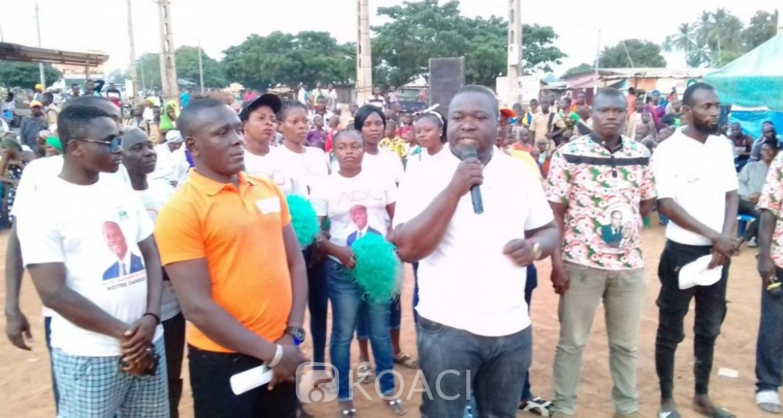 Côte d'Ivoire : Sakassou, la base opposée au choix du parti aux législatives menace, « si on ne prend pas Yves Toto, on va enterrer le RHDP ici »