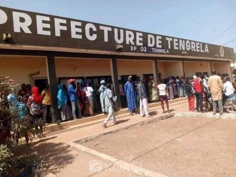 Côte d'Ivoire : RHDP, à Tengrela, opposés à la candidature de Mariam Traoré, des militants protestent, la députée crie à la manipulation