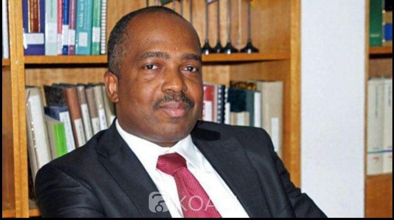 Côte d'Ivoire : « Ingérence » de la FIFA dans le processus électoral de la CAF  , le président de la commission de gouvernance, Michel Brizoua-Bi  fait part de son désaccord