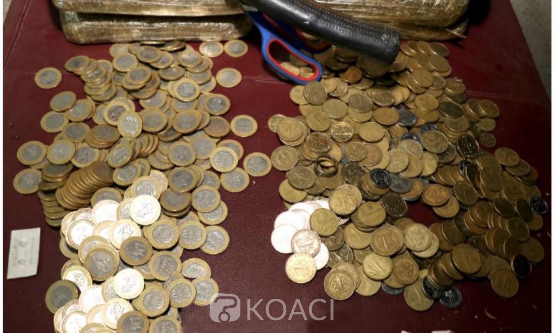 Côte d'Ivoire : Lutte contre la drogue,  plusieurs pièces de monnaie saisies sur des individus interpellés dans des fumoirs par la Gendarmerie
