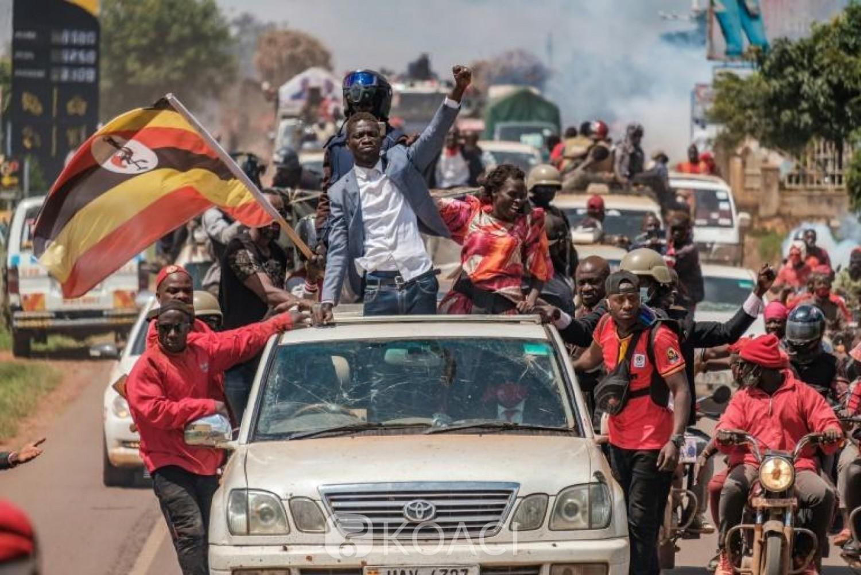 Ouganda : Bobi Wine affirme avoir vaincu le «dictateur» Museveni et dénonce déjà des fraudes