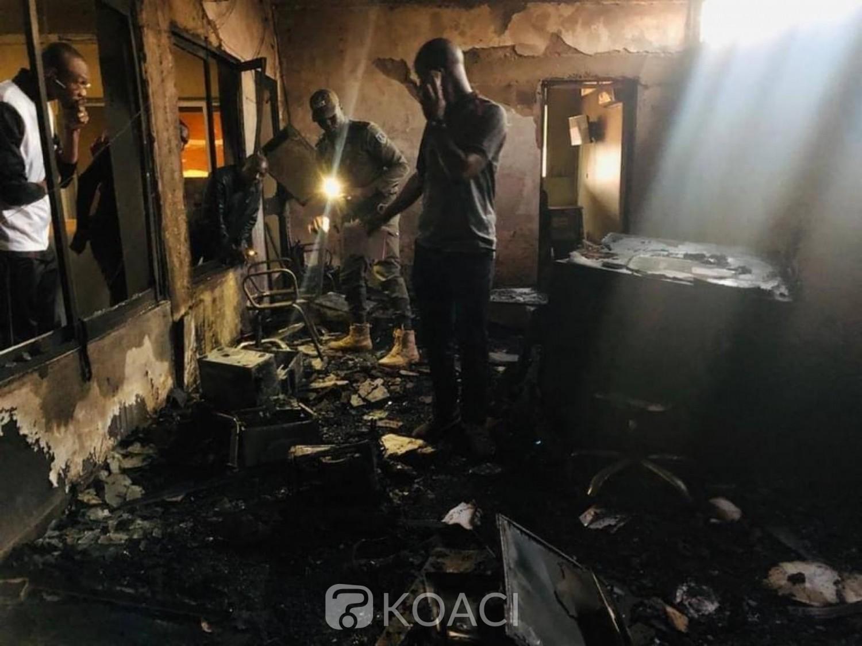 Burkina Faso : Les locaux de la télévision privée BF1 partiellement ravagés par un incendie