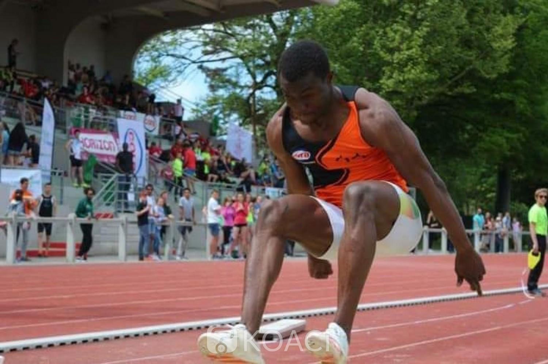 Burkina Faso : Le triple sauteur burkinabé Zango bat le record en salle avec 18,07m