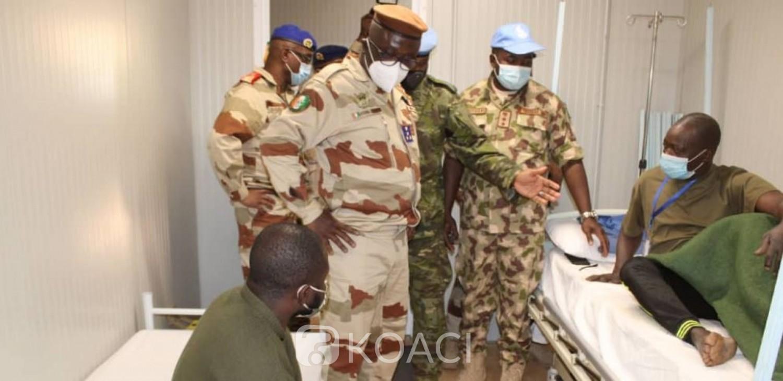 Côte d'Ivoire-Mali : Après l'attaque mortelle, le Général Doumbia à la rencontre des troupes ivoiriennes à Tombouctou