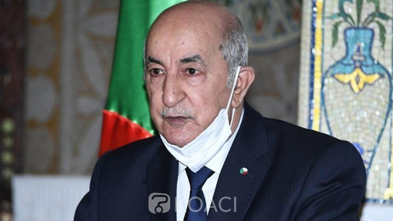 Algérie :  A peine  guéri  du Covid-19,  le Président Tebboune opéré au pied en Allemagne