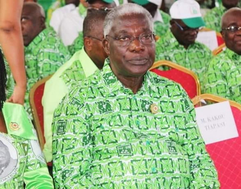 Côte d'Ivoire : Législatives 2021, alors qu'il était annoncé candidat indépendant, Djédjé Mady investi finalement candidat PDCI par Bédié