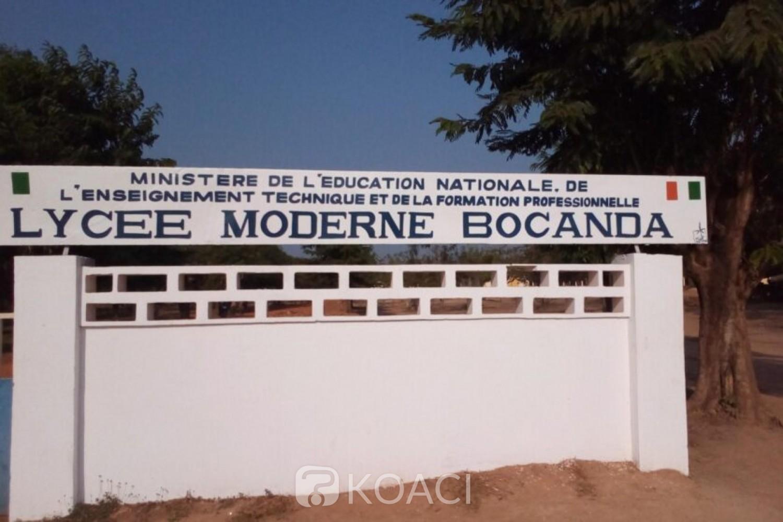 Côte d'Ivoire : Bocanda, un élève confisque le téléphone de son professeur et écope d'une sanction de 03 jours d'exclusion