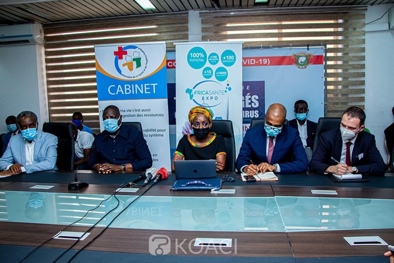 Côte d'Ivoire :   Africa Santé Expo sous fond du Covid-19, entre 10.000 et 15.000 participants du monde attendus