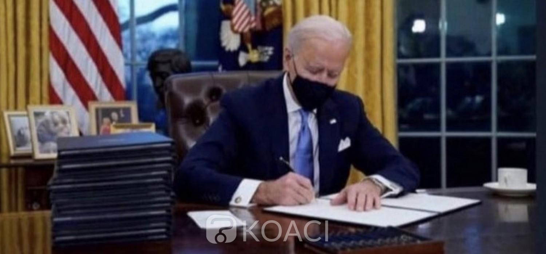 Liberia-USA :  Un décret de « protection » du nouveau Président Biden pour des libériens aux USA