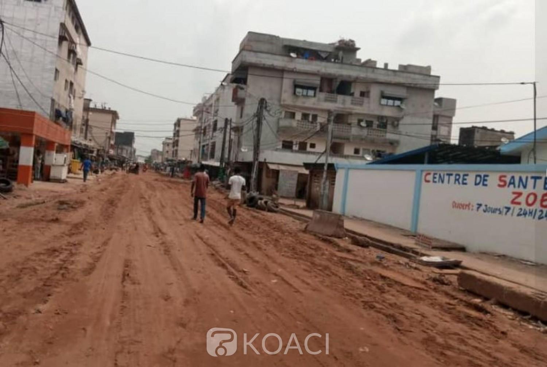 Côte d'Ivoire : Infrastructures routières, début de reprofilage de la voirie dans plusieurs quartiers de Koumassi
