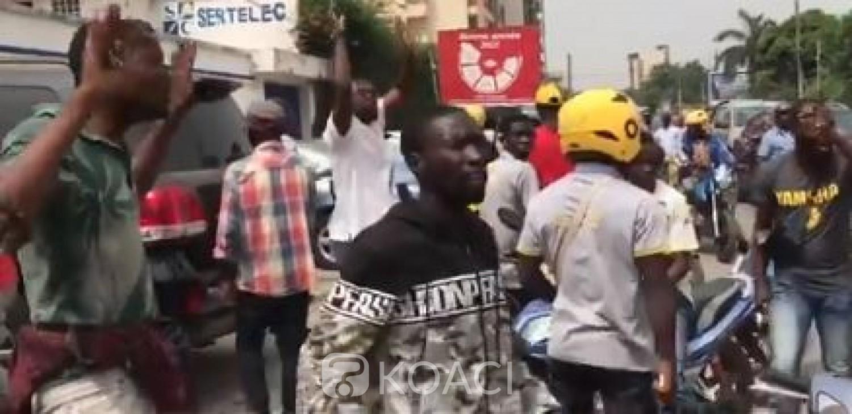 Côte d'Ivoire : Les livreurs indépendants manifestent leur colère contre la direction de Glovo