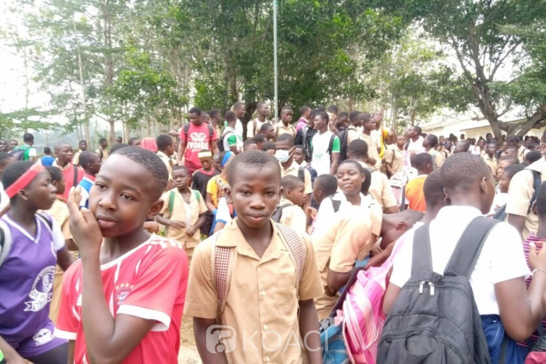 Côte d'Ivoire : Béttié, manifestation d'élèves pour remboursement des frais COGES, interruption des cours