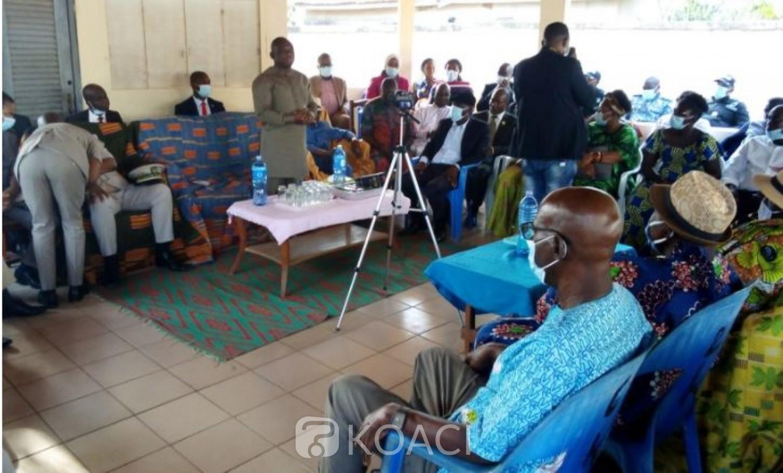 Côte d'Ivoire : En mission dans le village de Gbagbo, ce que le chef de terre  a confié à KKB pour une réconciliation  totale