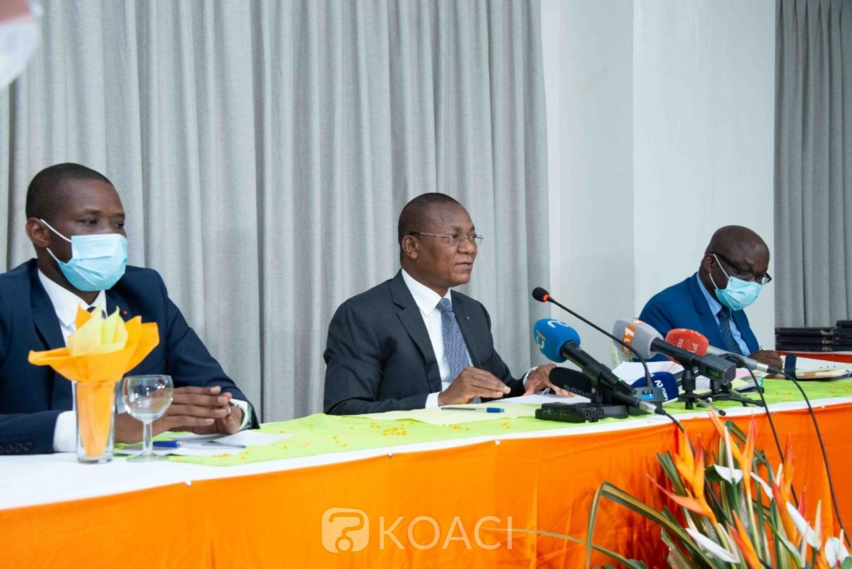 Côte d'Ivoire :  Ministère de la construction, du logement et de l'urbanisme, Bruno Koné dresse un bilan satisfaisant et annonce plusieurs réformes menées au niveau de l'Urbanisme et du Foncier