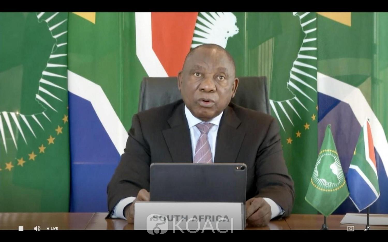 Afrique du Sud : Vaccins anti-Covid, Cyril Rampahosa en colère contre les pays riches