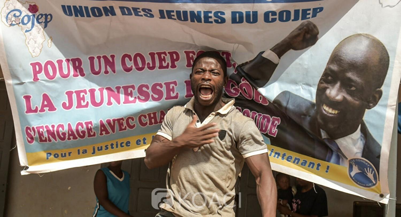Côte d'Ivoire :   COJEP, dissolution du Conseil exécutif national et du cabinet du Président par Blé Goudé depuis la Haye