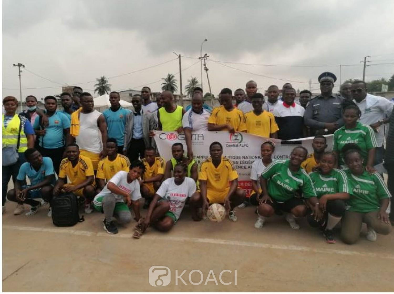 Côte d'Ivoire : Pour un environnement apaisé et sans violence et  sans arme,  le Rasalao-Ci renforce  les liens entre les Fds et les Communautés à travers le sport