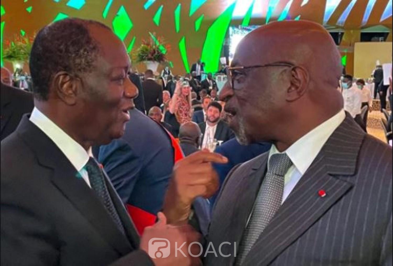 Côte d'Ivoire : Pour l'élection de Jacques Anouma à la présidence de la CAF, Ouattara envoie des missions auprès de ses homologues