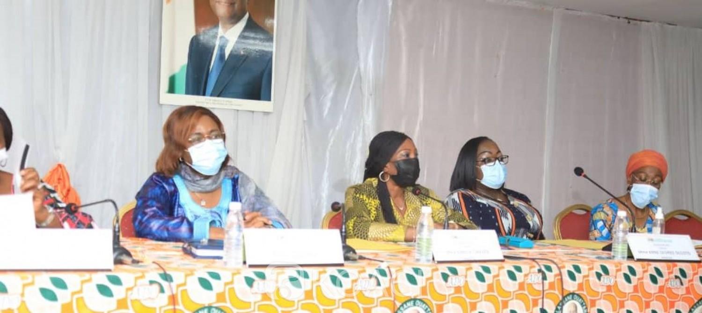 Côte d'Ivoire :   Législatives, le RHDP retient 39 candidatures de femmes sur les 255 sièges à pourvoir