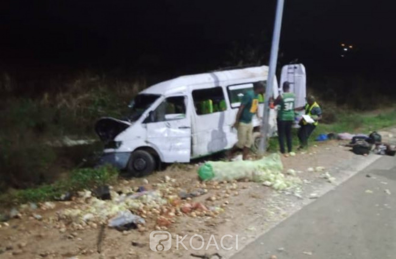 Côte d'Ivoire : Début de week-end dramatique,  04 décès dans un accident de circulation à Bouaflé
