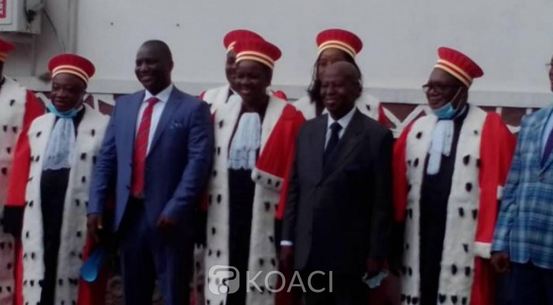 Côte d'Ivoire : Au conseil Constitutionnel, le représentant du PDCI prend enfin sa place à la CEI, l'engagement de Doumbia Major et les recommandations de Oble