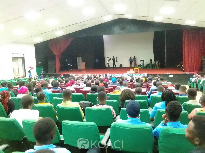 Côte d'Ivoire : Bouaké, voyant la créativité des apprenants, plusieurs étudiants instruits sur l'entrepreneuriat autour du Covid-19