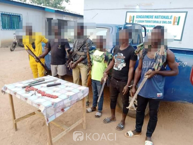 Côte d'Ivoire : Bangolo, des armes de guerre et des munitions saisis aux domiciles des présumés braqueurs