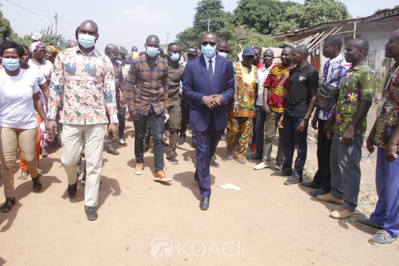 Côte d'Ivoire : Bouaké, non retenu pour les législatives, un cadre mobilise ses sympathisants à soutenir les candidats choisis par son parti