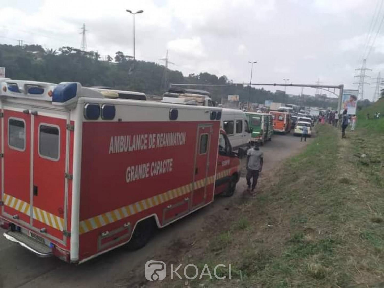 Côte d'Ivoire : Voie express Yopougon-Adjamé, un accident fait au moins 35 victimes et créé un embouteillage monstre