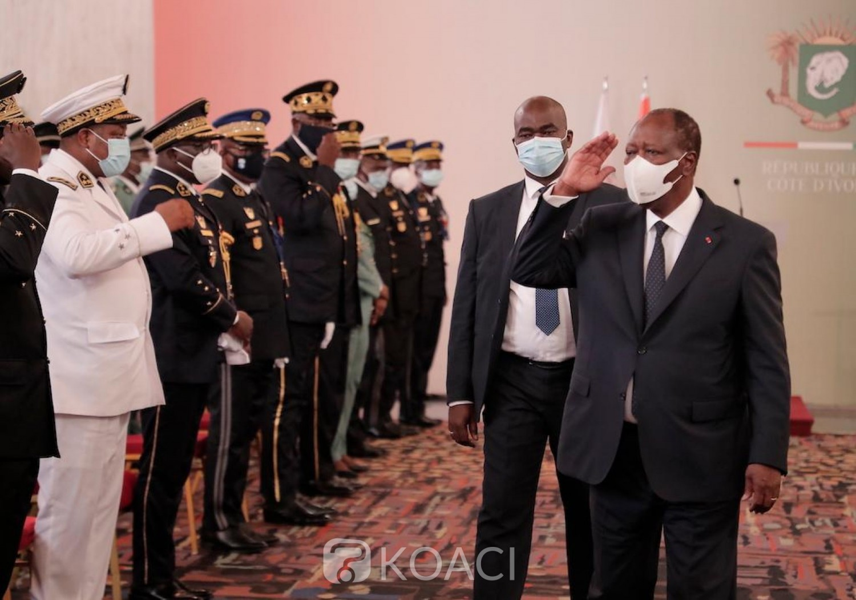 Côte d'Ivoire : Présentation de vœux à Ouattara, l'armée demande plus de moyens pour mieux accomplir ses missions