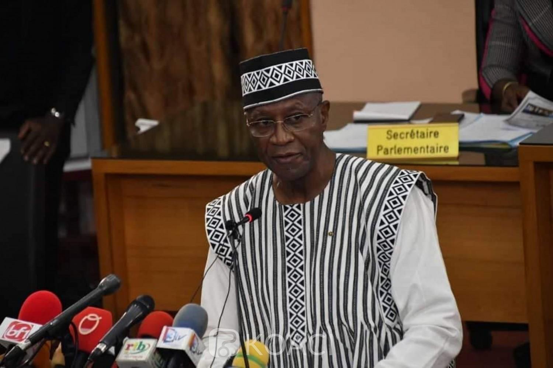 Burkina Faso : L'assemblée donne quitus au premier ministre après son discours de politique générale