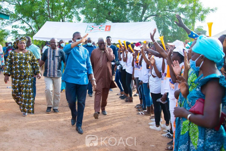 Côte d'Ivoire : Législatives 2021, les candidats de la Bagoué présentés aux populations