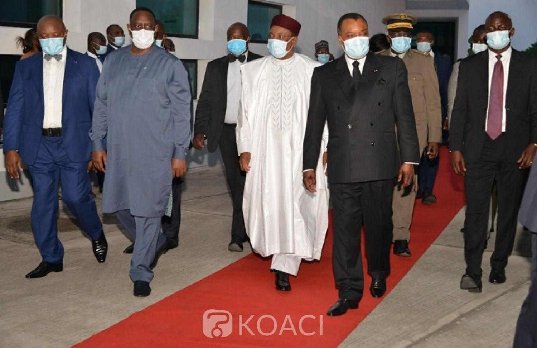 Congo-Sénégal : Macky Sall et Mahamadou Issoufou à l'inauguration de l'Université Denis Sassou N'Guesso