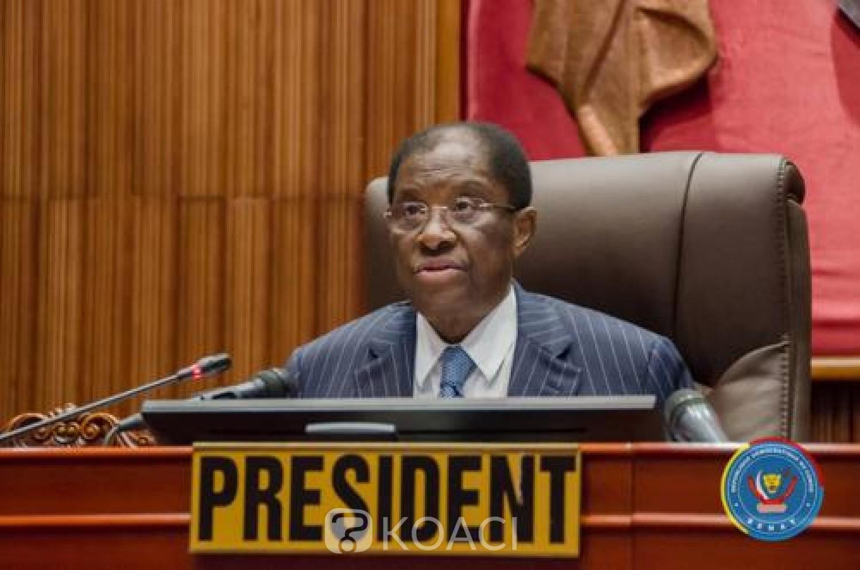 RDC : Alexis Thambwe Mwamba quitte la présidence du sénat