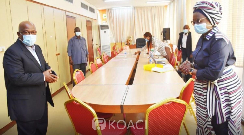 Côte d'Ivoire : CONOR-FIF, Roger Ouégnin met déjà la pression sur Mme Gabala : « Privilégier  la qualité du travail à la vitesse pour le réaliser »