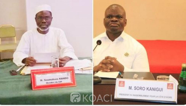 Côte d'Ivoire : Guéguerre entre pro et ex-pro Soro, le député Kando met en garde son collègue Kanigui contre toute attaque contre l'ex PAN