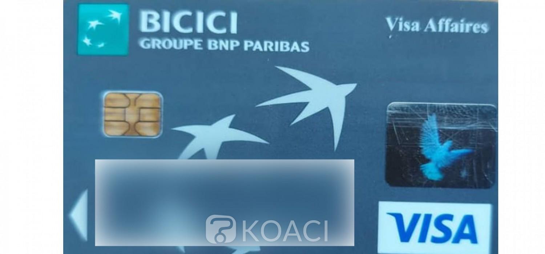 Côte d'Ivoire : Cartes bancaires Visa, attention danger à la Bicici