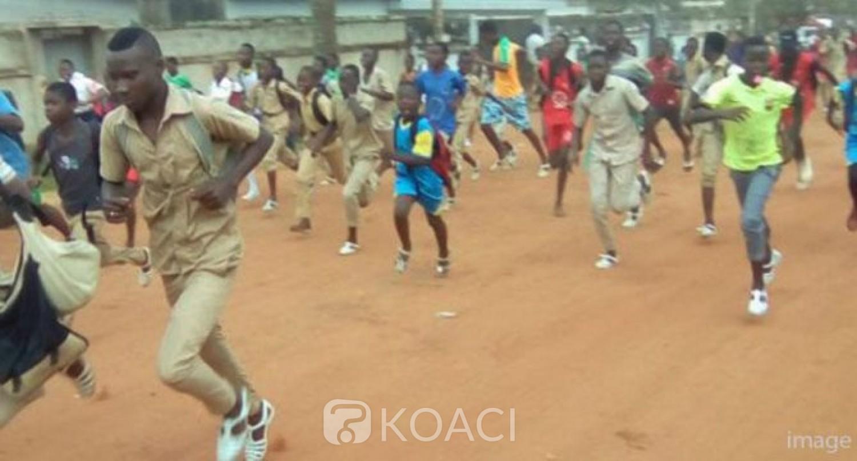 Côte d'Ivoire : Issia, au lycée municipal, les violentes bagarres à la machette des vendredis entre élèves devenues une habitude