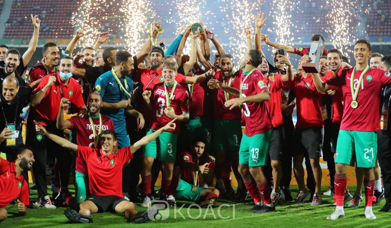 Afrique : Le Maroc vainqueur du  CHAN 2020