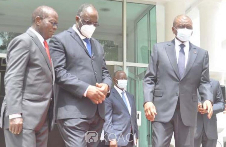 Côte d'Ivoire : De retour de France, Guikahué reconnaissant envers Hamed Bakayoko, il préconise un dialogue entre les grands leaders