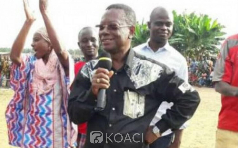 Côte d'Ivoire : Législatives 2021 à Grand Lahou, Aka Sayé Lazare clarifie tout sur son prétendu soutien à un candidat indépendant contre celui du RHDP