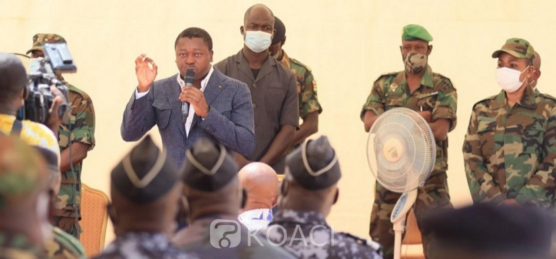 Togo :  Revue du dispositif sécuritaire au nord contre le terrorisme