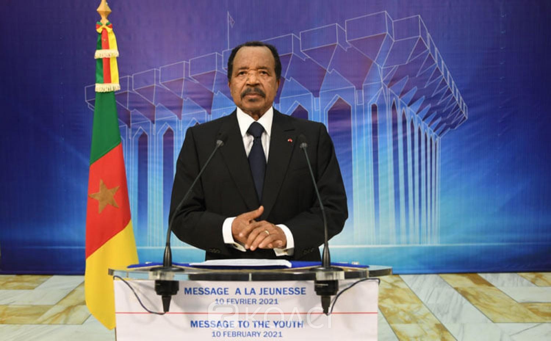 Cameroun : Message aux jeunes, Biya évoque la transition et annonce 500 mille emplois en 2021